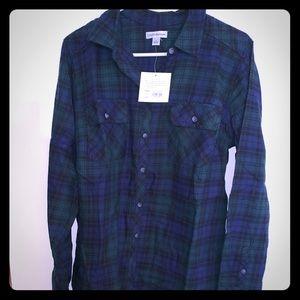 NWT Men's Croft&Barrow flannel